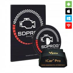 Interfejs iCar PRO WiFi + SDPROG PL (BOX)