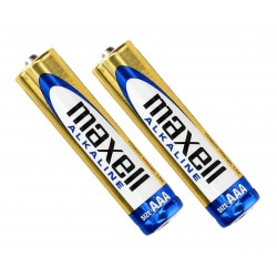Additional Maxell Alkaline AA batteries - 2 items